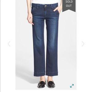 FRAME Le Slim Straight Leg Denim Trouser